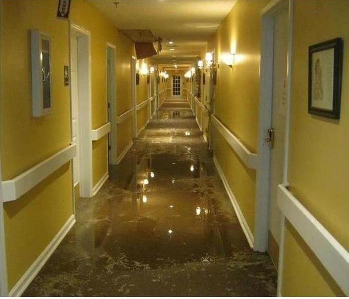 Commercial Water Damage – Shrewsbury Medical Facility Before