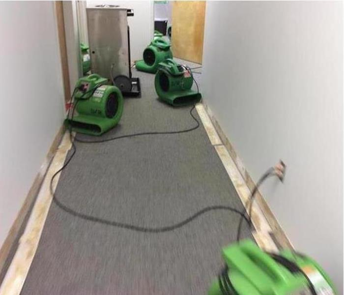 Commercial Water Damage - Shrewsbury After