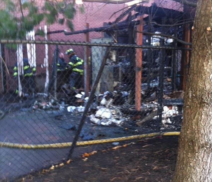 Restaurant Fire in Westborough Before