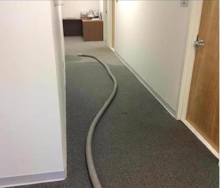 Commercial Water Damage - Shrewsbury Before
