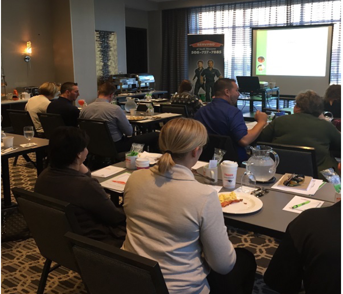 Continuing Education Class on Ethics presented by SERVPRO