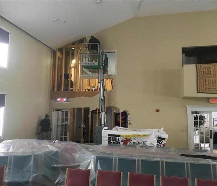West Boylston Chuch Water Damage