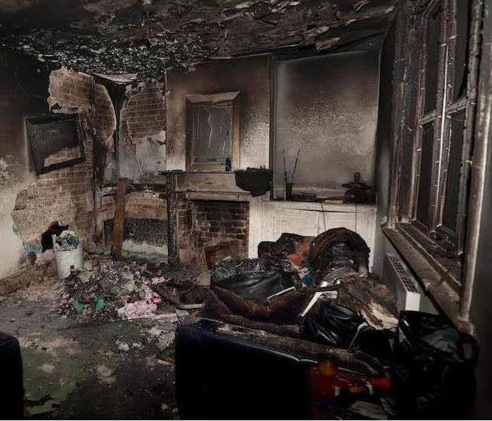 Fire Damage Did you Know UV Technology can be used to fix Fire Damage in our Local Homes?